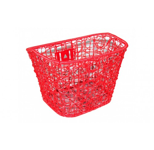 Kurv For fastmontering Mix Rød Plast Rattan