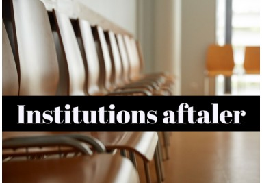Institutions aftaler