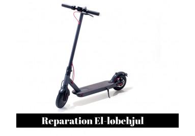 Reparation El-løbehjul